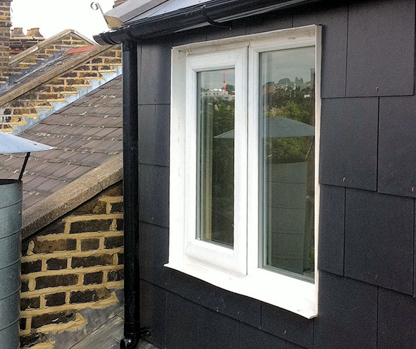 Attic extension completed
